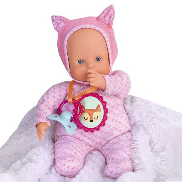 Boneco Bebé Nenuco Little Fox Famosa (30 cm) Cor de rosa