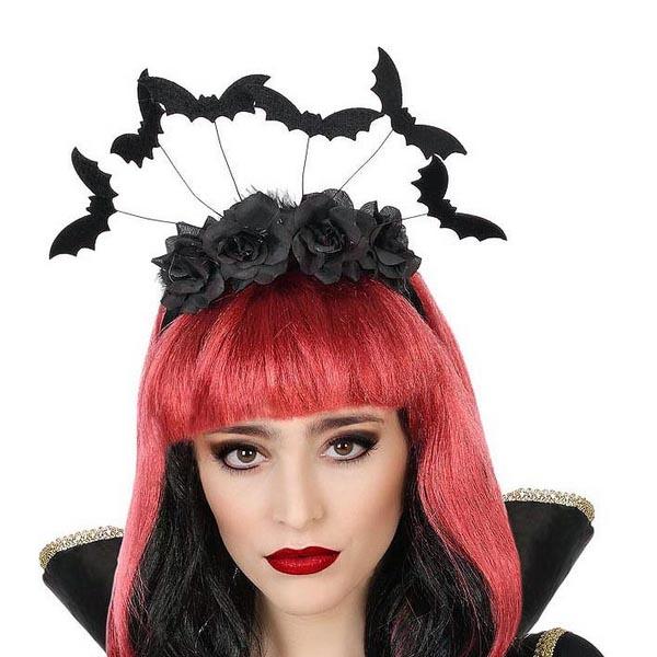 Diadema Halloween Morcego
