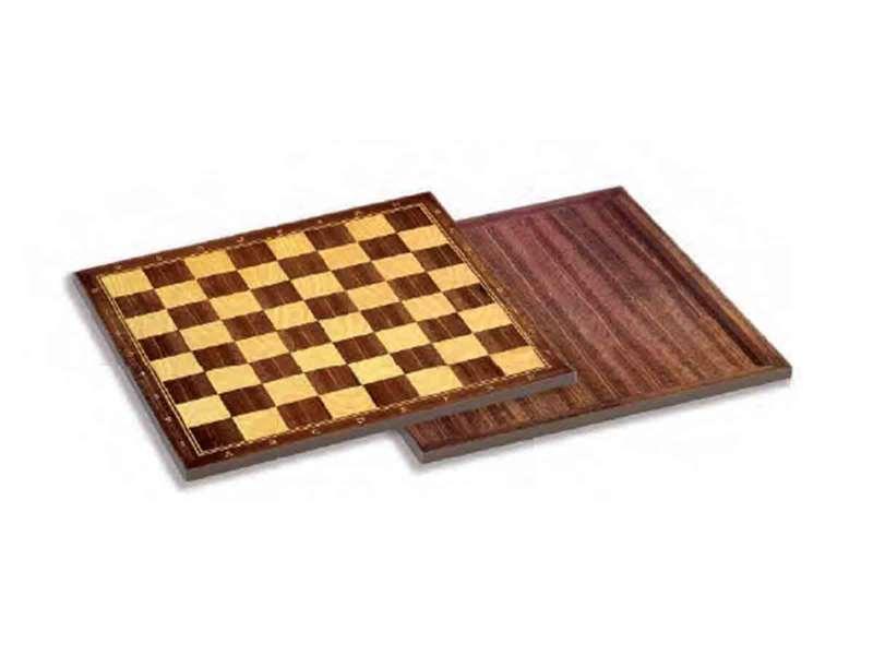 Tabuleiro de Xadrez e Damas Cayro Madeira (40 X 40 cm)