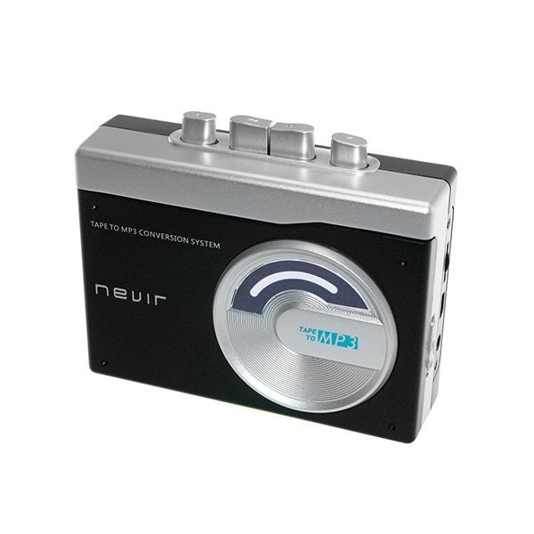 Reprodutor conversor de cassette para MP3 NEVIR NVR-417 Preto