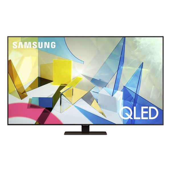 "Smart TV Samsung QE75Q80T 75"" 4K Ultra HD QLED WiFi Cinzento"