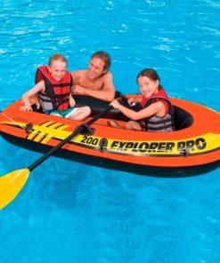 Barco Insuflável Explorer Pro 200 Intex (196 x 102 x 33 cm)