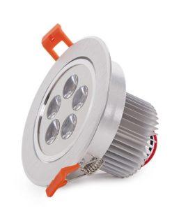 LED Downlight Ecoline Circular 5W 500Lm 30.000H