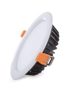 LED Downlight IP65 Banheiros E Cozinhas Ø190Mm 24W 2160Lm 30.000H