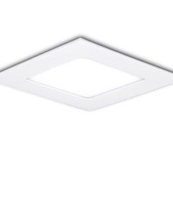 LED Downlight Slimline Quadrado Ecoline 85X85Mm 3W 230Lm 30.000H
