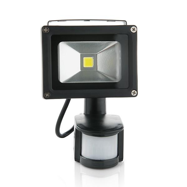 Projetor LED IP65 Detector de Movimento 10W 850Lm 30.000H