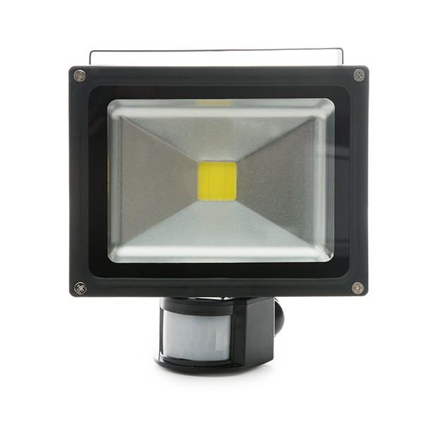 Projetor LED IP65 Detector de Movimento 20W 1800Lm 30.000H