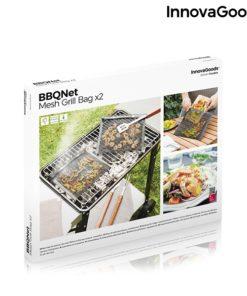Sacos de rede para churrasco BBQNet InnovaGoods (Pack de 2)
