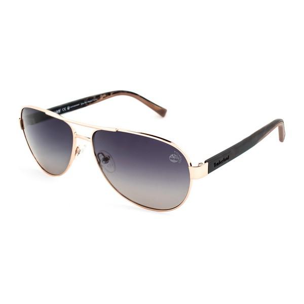 Óculos escuros unissexo Timberland TB9144-6128D Castanho (61 Mm)