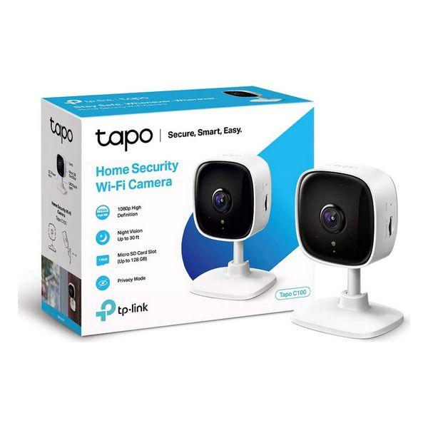 Câmara IP TP-Link Tapo C100 1080 px WiFi Branco