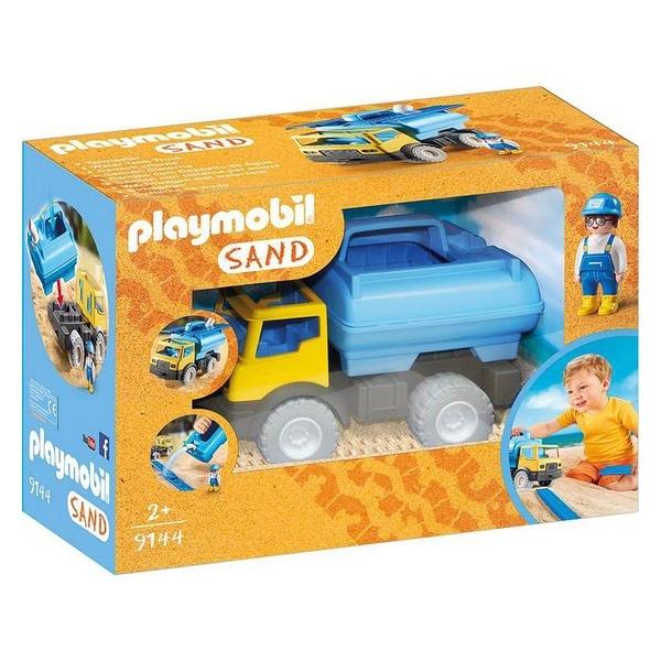 Camião Sand Playmobil 9144 Amarelo Azul