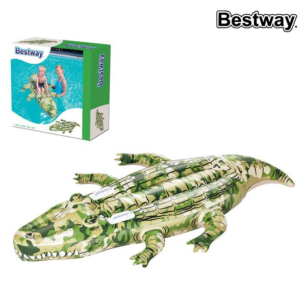 Colchão Insuflável Bestway 41090 (175 x 102 cm) Crocodilo
