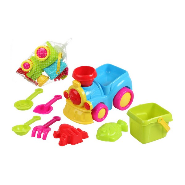 Conjunto de brinquedos de praia Train (8 pcs)