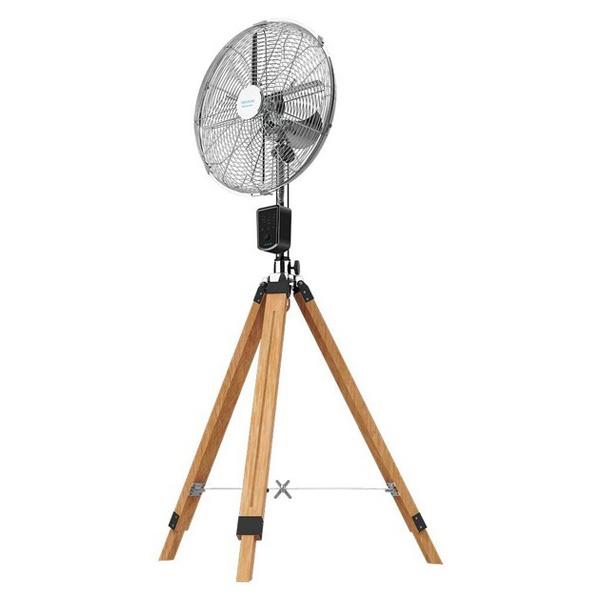 Ventilador de Pé Cecotec Force Silence 1600 Woody Smart Ø 40 cm 50W Madeira