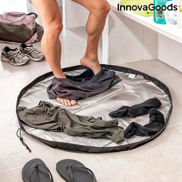 Tapete para vestiário e saco impermeável 2 em 1 Gymbag InnovaGoods