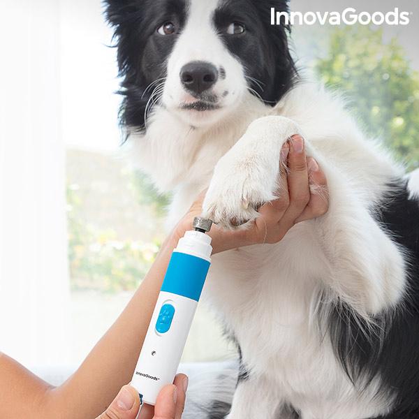 Lima de unhas recarregável para animais de estimação Pawy InnovaGoods