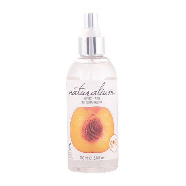 Spray Corporal Peach Naturalium (200 ml)