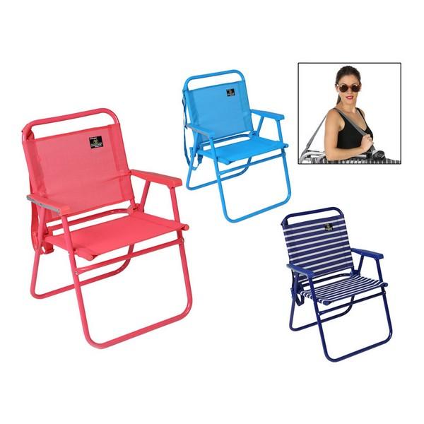Cadeira de praia Dobrável (57 X 57 x 79 cm)