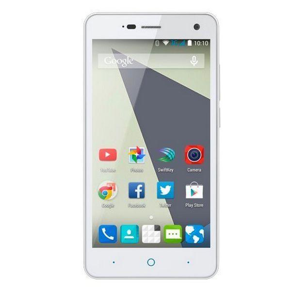 """Telemóvel ZTE Blade L3 5"""" 3G 8 GB Quad Core Branco"""