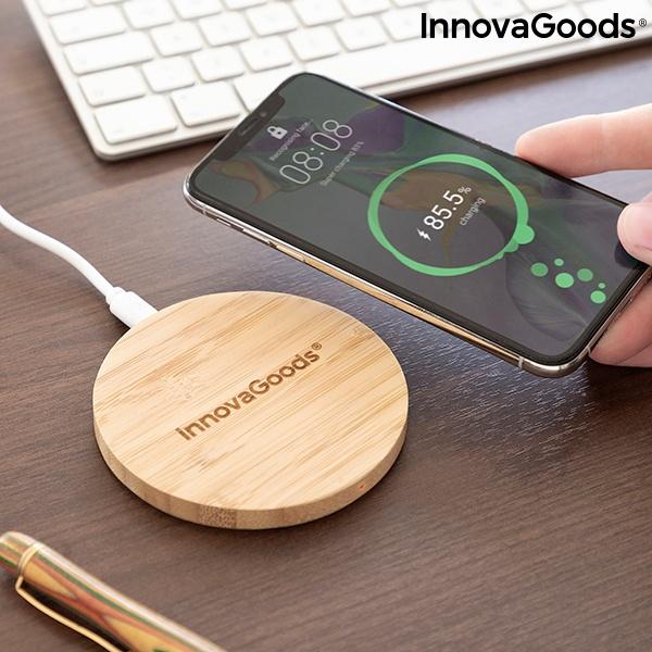 Carregador de Bambu sem Fios Wirboo InnovaGoods