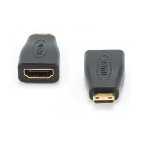 Adaptador Mini HDMI para HDMI GEMBIRD A-HDMI-FC Preto
