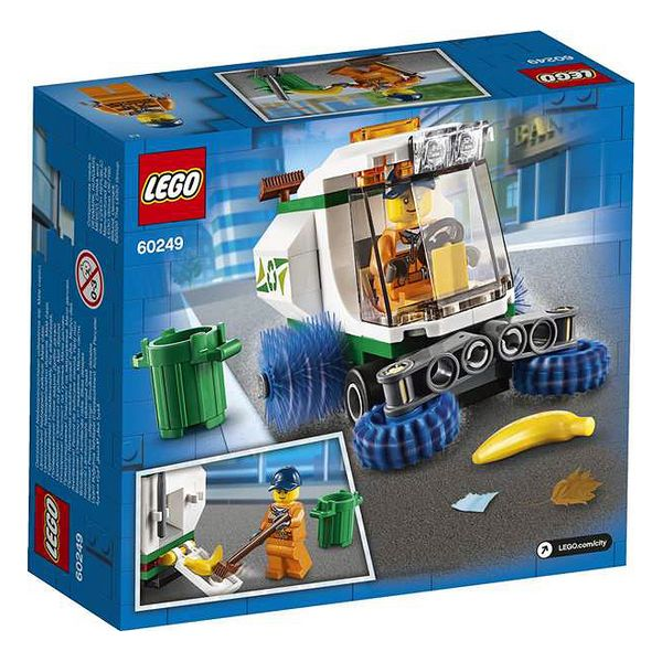 Playset City Street Sweeper Lego 60249