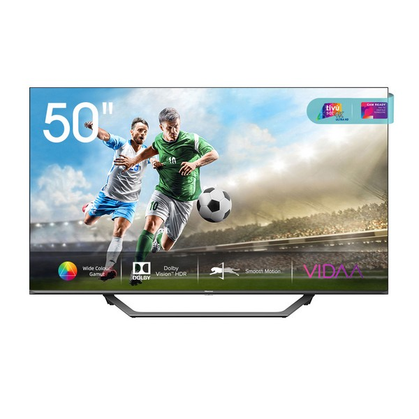 "Smart TV Hisense 50A7500F 50"" 4K Ultra HD LED WiFi Preto"