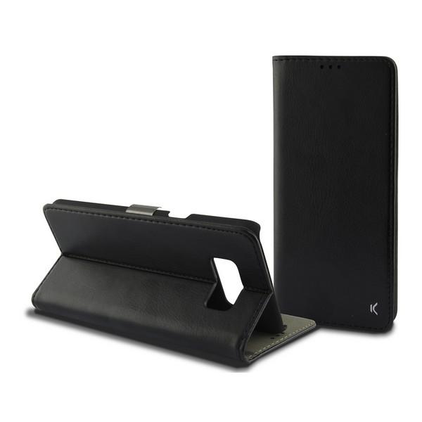 Capa tipo Livro para o Telemóvel Galaxy S8+ Preto