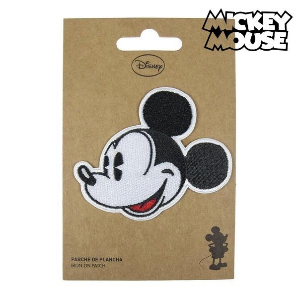 Adesivo Mickey Mouse Preto Branco Poliéster