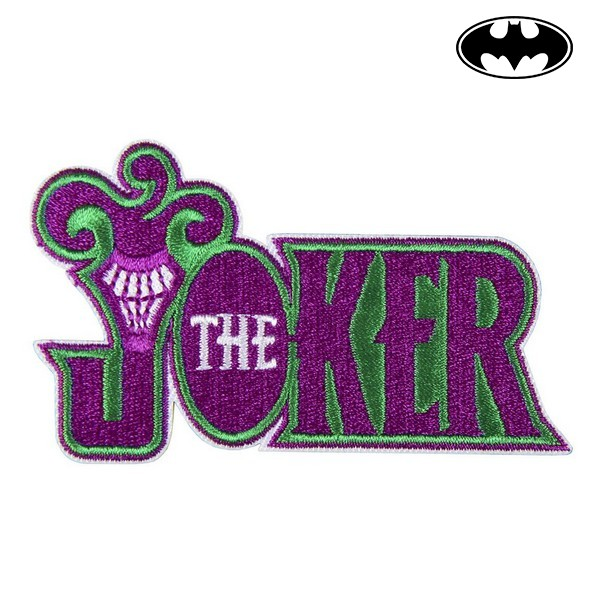 Adesivo Joker Batman Poliéster Roxo