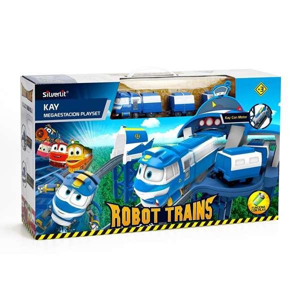 Pista de comboio Robotrain Bizak