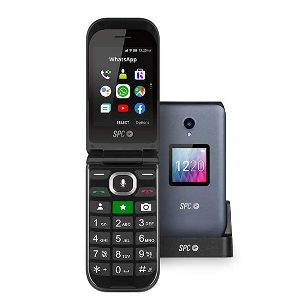 """Telefone Telemóvel SPC 2316N Jasper 2,8"""" TFT WiFi 1600 mAh Preto"""