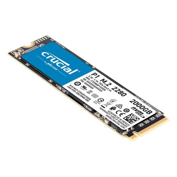 Disco Duro Crucial CT2000P1SSD8 2 TB SSD M.2