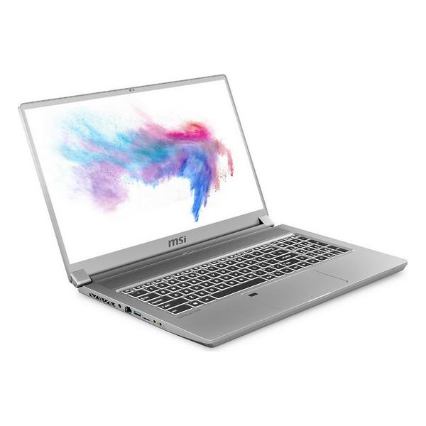"Notebook MSI Creator 17-206ES 17,3"" i7-10875H 32 GB RAM 1 TB SSD Prateado"