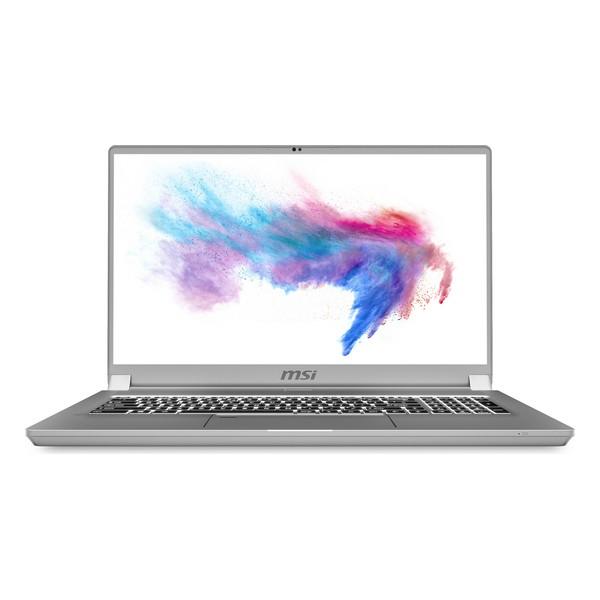 "Notebook MSI Creator 17-625ES 17,3"" i7-10875H 32 GB RAM 1 TB SSD Prateado"
