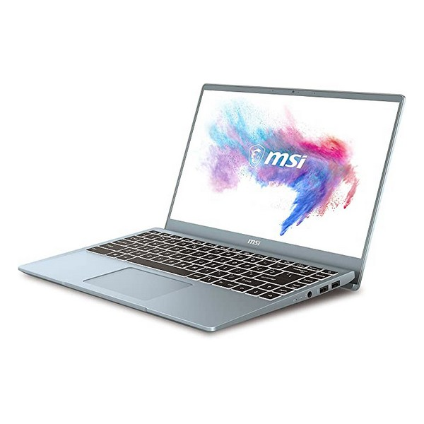 "Ultrabook MSI Modern 14-050XES 14"" i7-10510U 16 GB RAM 1 TB SSD Prateado"