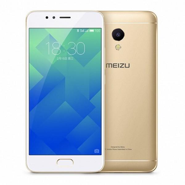 "Smartphone Meizu M5S 5,2"" IPS LCD Octa Core 1.3 GHz 16 GB 2 GB RAM 4G 3000 mAh Ouro"