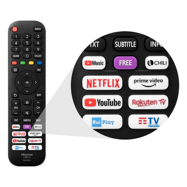 "Smart TV Hisense 65A7500F 65"" 4K Ultra HD DLED WiFi Preto"