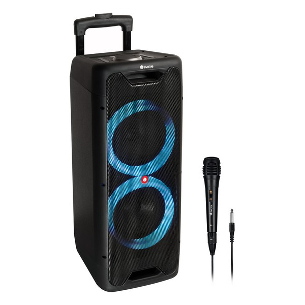 Altifalante Bluetooth NGS Wild Jungle 1 LED 80W
