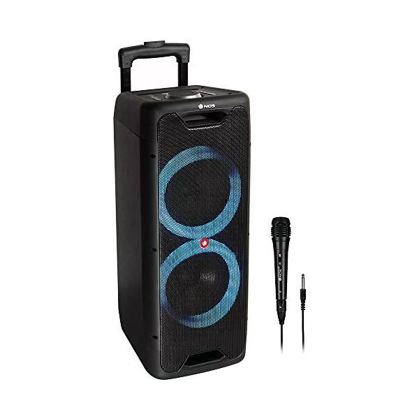 Altifalante Bluetooth NGS Wild Jungle 2 LED 100W