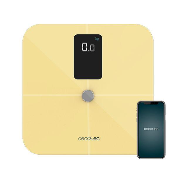 Balança digital para casa de banho Cecotec Surface Precision 10400 Smart Healthy Vision Amarelo