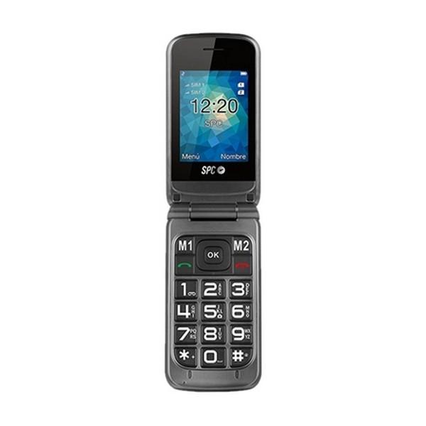 "Telefone Telemóvel SPC Stella 2317T 2,4"" Bluetooth 800 mAh Cinzento"