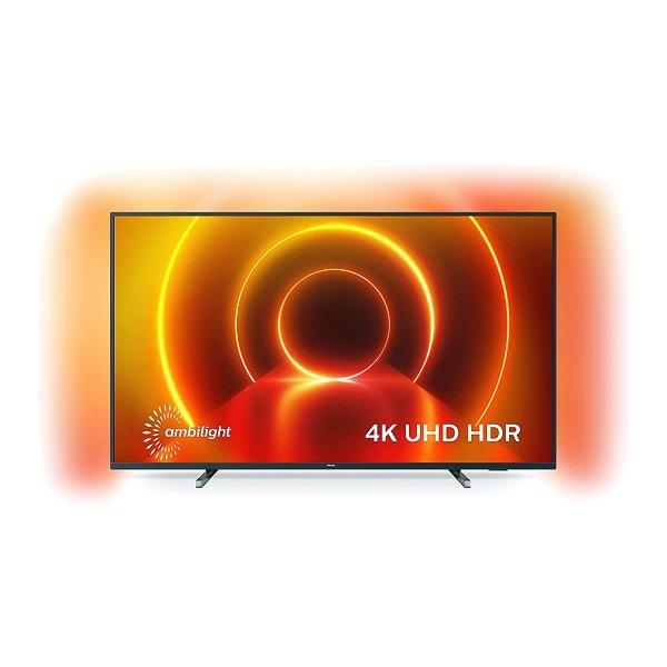 """Smart TV Philips 65PUS7805/12 65"""" 4K Ultra HD LED WIFI Cinzento"""