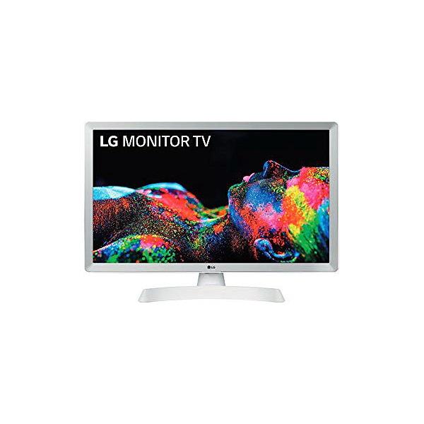 """Smart TV LG 24TN510SWZ 24"""" HD Ready LED WiFi Branco"""