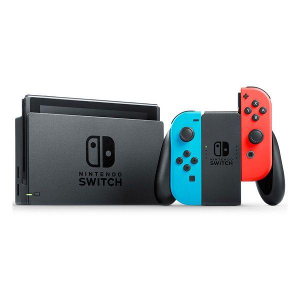"""Nintendo Switch Nintendo 6,2"""" 32 GB Azul Vermelho"""