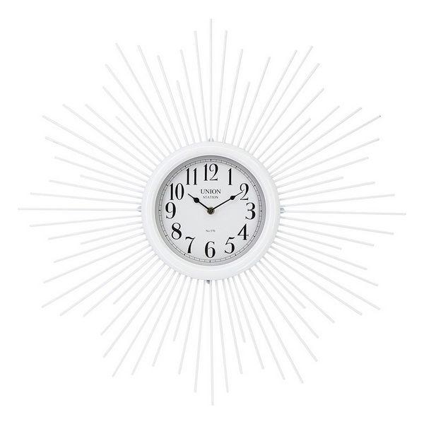 Relógio Madeira MDF/Metal (68 x 6,5 x 68 cm)