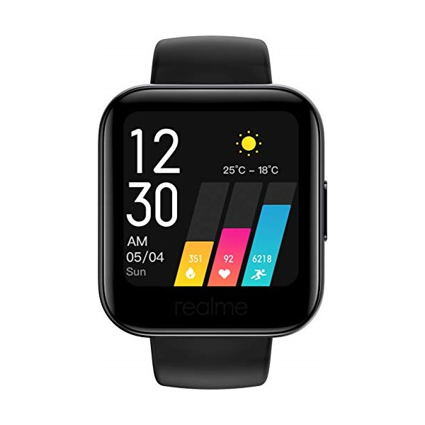 "Smartwatch Realme Watch 161 1,4"" 160 mAh Bluetooth 5.0 Preto"