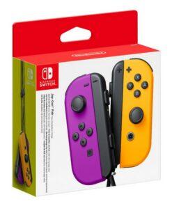 Gamepad sem Fios Nintendo Joy-Con Roxo Laranja
