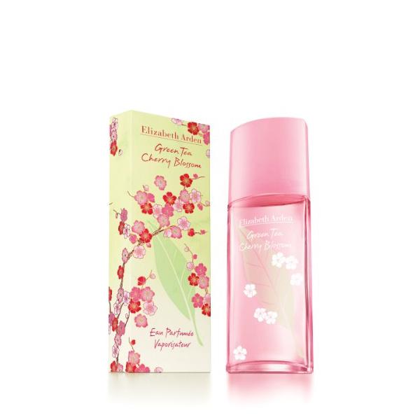 Perfume Mulher Green Tea Cherry Blossom Elizabeth Arden EDT (100 ml)