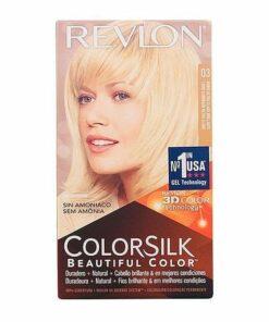 Tinta Sem Amoníaco Colorsilk Revlon Louro ultraclaro natural
